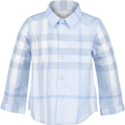 Foto van Burberry 4018596 baby blouse licht blauw