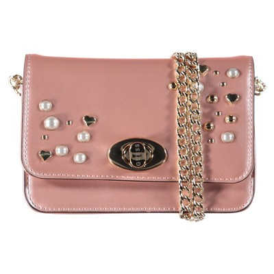 Picture of Guess J91Z06 kids bag light pink