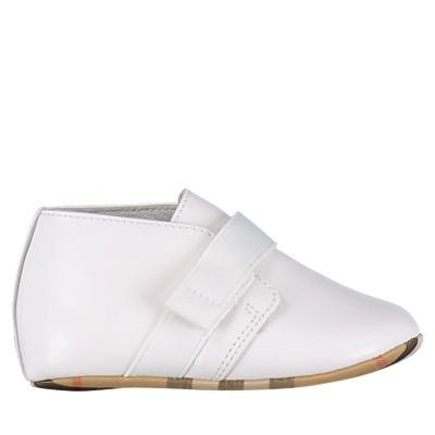 Afbeelding van Burberry 4076019 babyschoenen wit