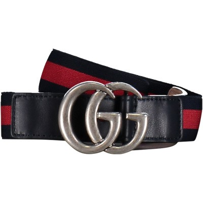 Picture of Gucci 432707 HAENN kids belt navy