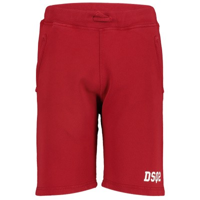 Afbeelding van Dsquared2 DQ03B3 kinder shorts rood