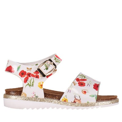 Picture of MonnaLisa 8C3002 kids sandals white