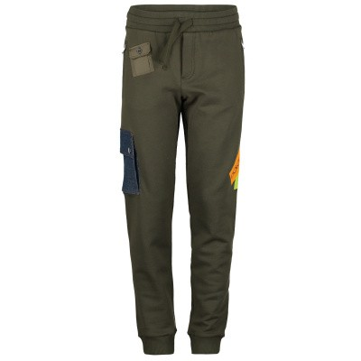 Picture of Dolce & Gabbana L4JPWE kids jeans army