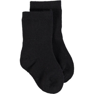 Picture of Bonnie Doon BD934401 baby socks black
