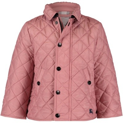 Afbeelding van Burberry 8002696 babyjas licht roze