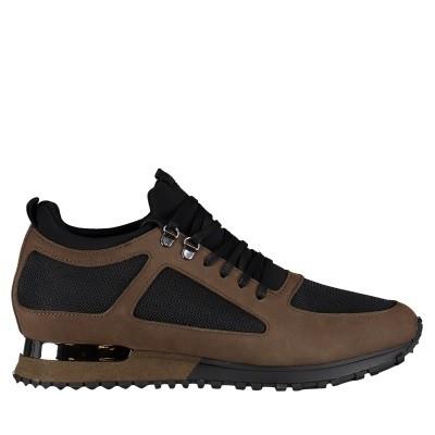 Afbeelding van Mallet TE1018 heren sneakers army