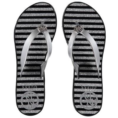 Afbeelding van Guess FL6ENZELE21 dames slippers zilver