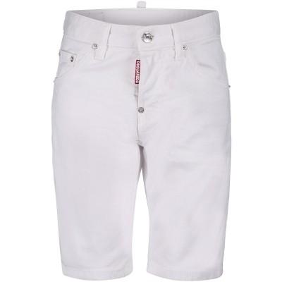 Afbeelding van Dsquared2 DQ024D kinder shorts wit
