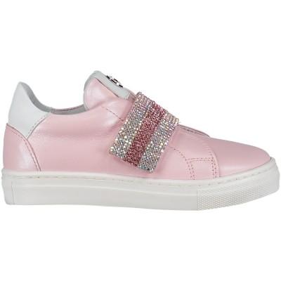 Afbeelding van Coccinelle 1803 kindersneakers licht roze