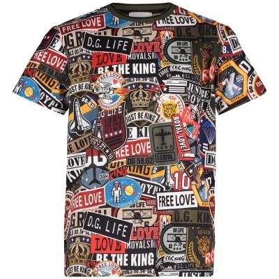 Afbeelding van Dolce & Gabbana L4JT7N G7RNX kinder t-shirt army