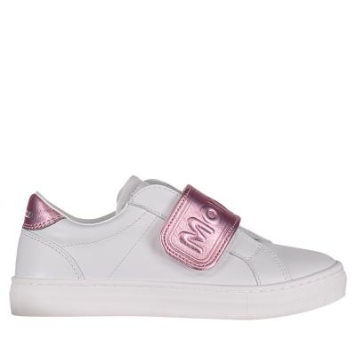 Afbeelding van Moncler MO0048900 kindersneakers licht roze