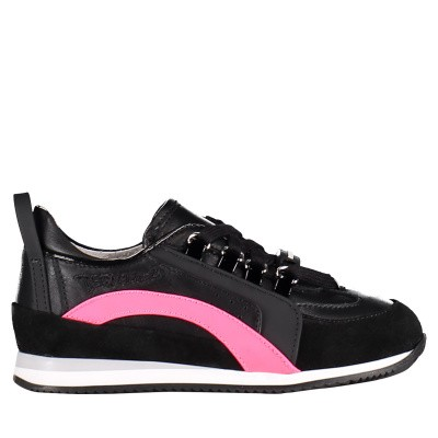 Picture of Dsquared2 59659 kids sneakers black