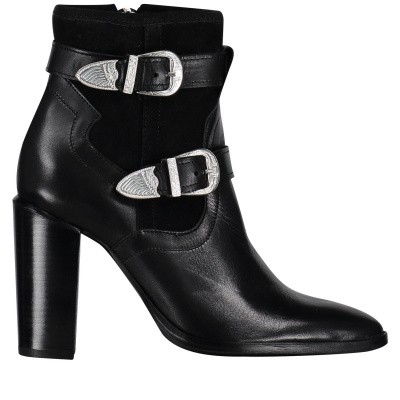 Picture of Nikkie N9093 womens boots black