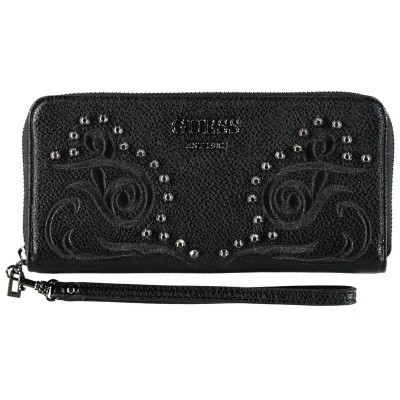 Picture of Guess SWEJ6995460 womens wallet black