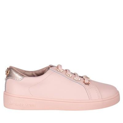 Afbeelding van Michael Kors ZIA IVY SPRUNG kindersneakers licht roze