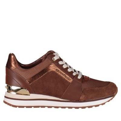 Picture of Michael Kors 43F8BIFS1S womens sneakers camel