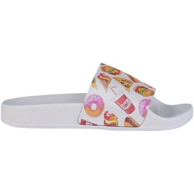 Afbeelding van The white Brand BIRGERS kinderslippers wit