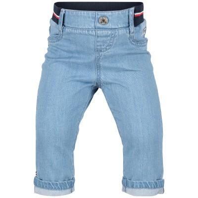 Afbeelding van Tommy Hilfiger KN0KN00935 babybroekje jeans