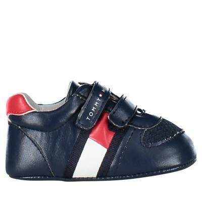 Picture of Tommy Hilfiger T0B430008 baby sneakers navy