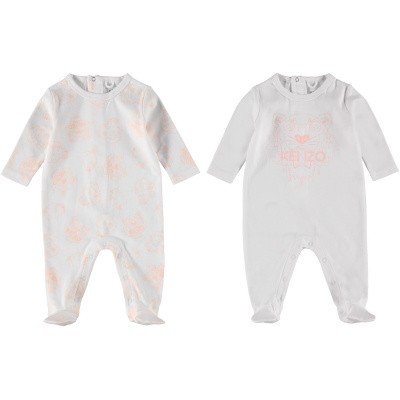 Picture of Kenzo KN99013 baby playsuit light pink
