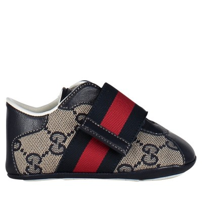 Picture of Gucci 285206 baby sneakers blue