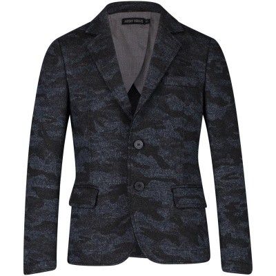 Picture of Antony Morato MKJA00113 kids jacket blue
