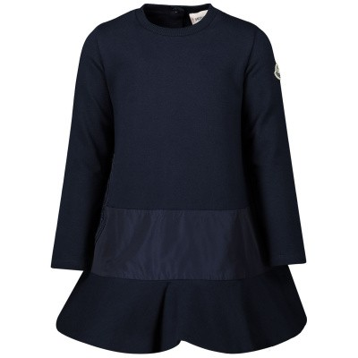 Picture of Moncler 8575550 baby dress navy
