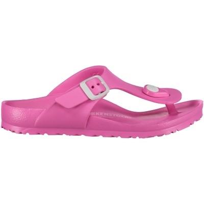 Afbeelding van Birkenstock eva gizeh kinder teenslippers fluor roze