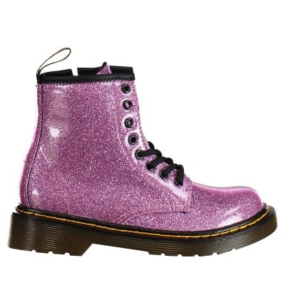 Picture of Dr. Martens 24088960 kids boots pink