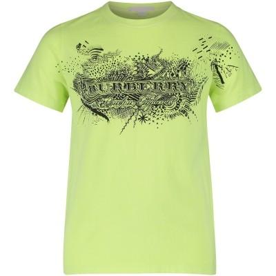 Afbeelding van Burberry 4067484 kinder t-shirt fluor geel