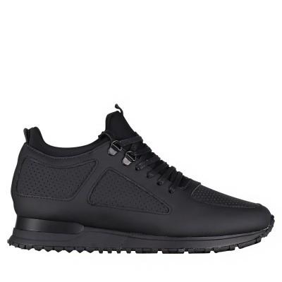 Afbeelding van Mallet TE1018 GUM heren sneakers zwart