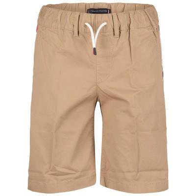 Picture of Tommy Hilfiger KB0KB04781 kids shorts sand