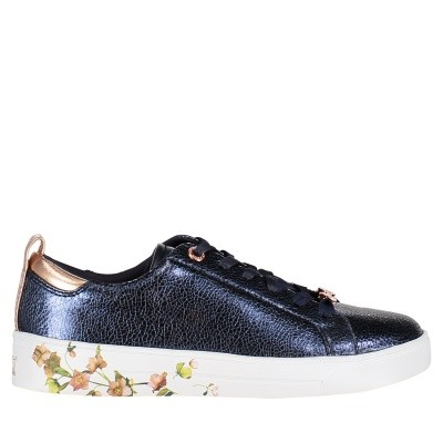 Picture of Ted Baker 917736 womens sneakers navy