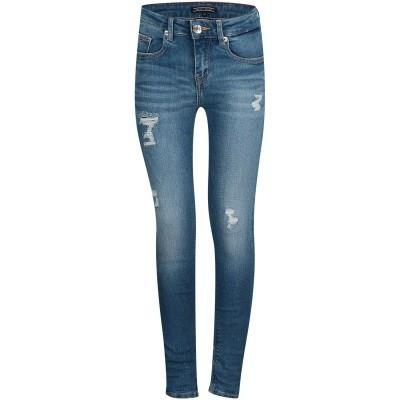 Afbeelding van Tommy Hilfiger KG0KG03743 kinder jeans jeans