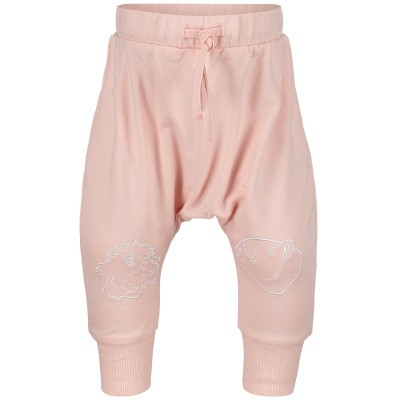 Picture of Kenzo KN23013 baby pants light pink