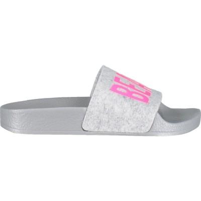 Afbeelding van THEWHITEBR BEACHKIDS kinderslipper fluor roze
