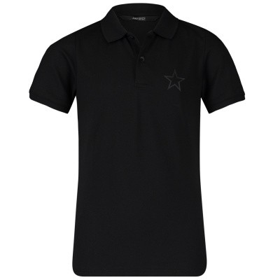 Picture of Airforce B0565 kids polo shirt black