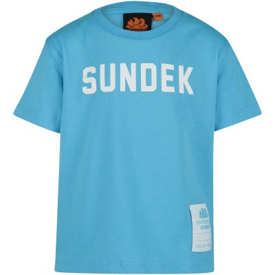 Afbeelding van Sundek B025TEJ7800 B baby t-shirt turquoise