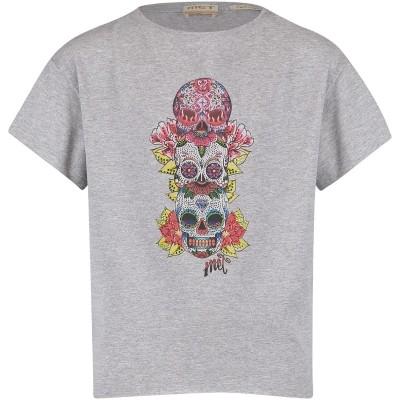 Afbeelding van MET 16GMC0016 kinder t-shirt grijs