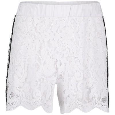 Picture of MonnaLisa 493401 kids shorts white