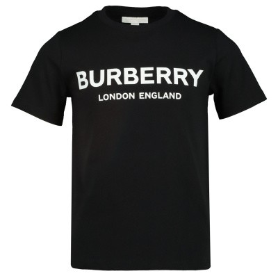 Picture of Burberry 8008881 kids t-shirt black