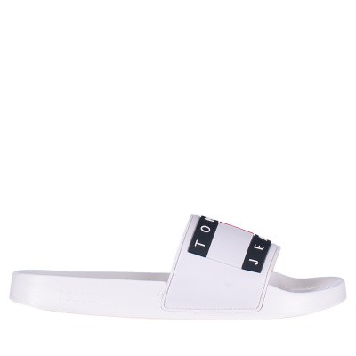 Afbeelding van Tommy Hilfiger EN0EN00474 dames slippers wit