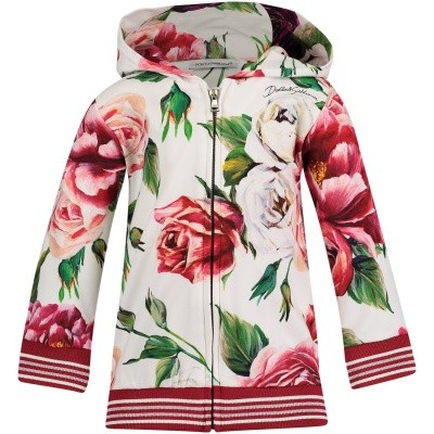 Afbeelding van Dolce & Gabbana L2JWT3 G7OSH baby baby vest donker roze