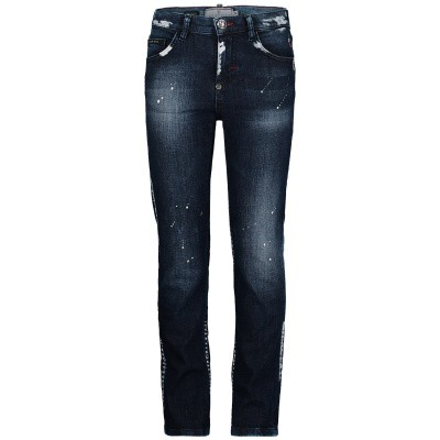 Picture of Philipp Plein BDT0147 kids jeans jeans