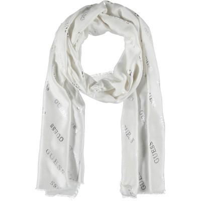 Afbeelding van Guess AW8126VIS03 dames sjaal wit