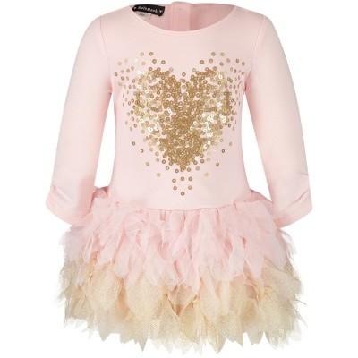 Afbeelding van Kate Mack 524B baby jurkje licht roze