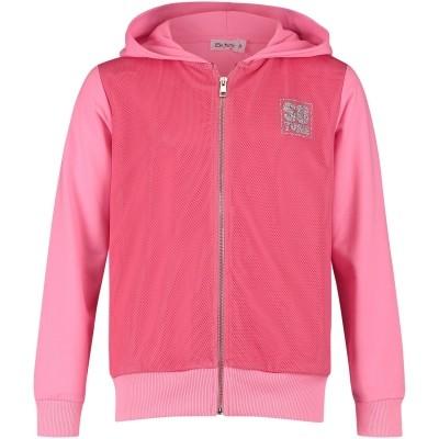 Afbeelding van Miss Grant 68503876 kinder joggingvest roze