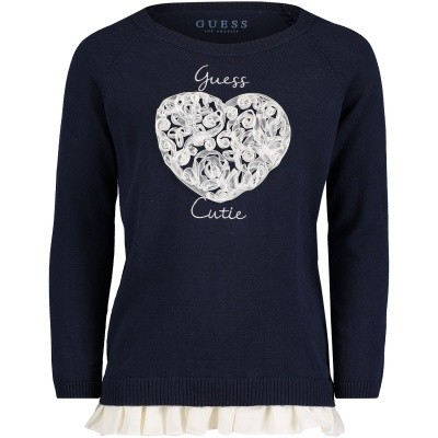 5b1c65078e Picture of Guess K83R01 kids sweater navy
