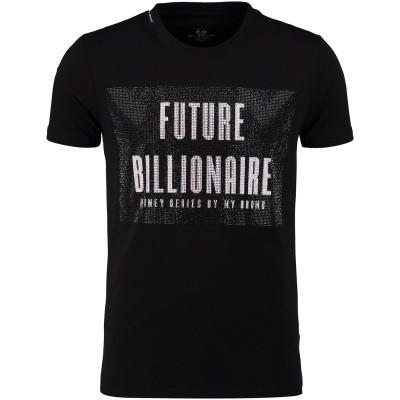 Afbeelding van My Brand MMBTS010G3037 heren t-shirt zwart
