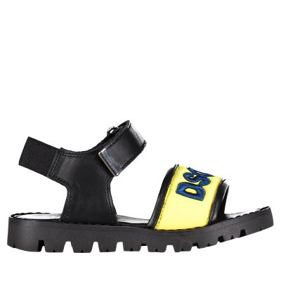 Picture of Dsquared2 59673 kids sandals yellow
